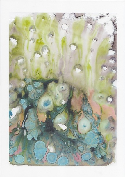 Rain print by Kathy Panton
