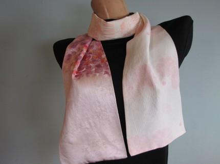 Poppy Kimono Silk Scarf by tutus2