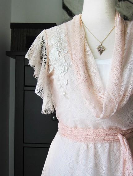 Lace tunic by Lirola