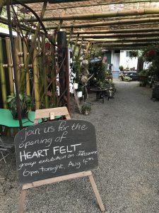 Heart Felt Exhibition at Entangle Living Art