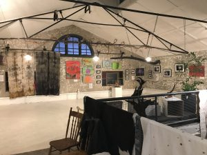 The amazing gallery space at Entangle Living Art